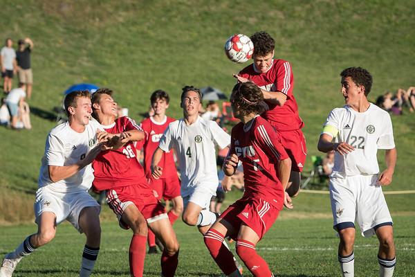 CVU Varsity Soccer 2018