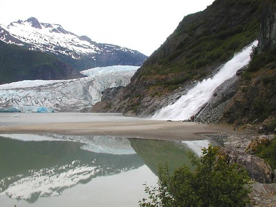 Juneau and Mendenhall Glacier
