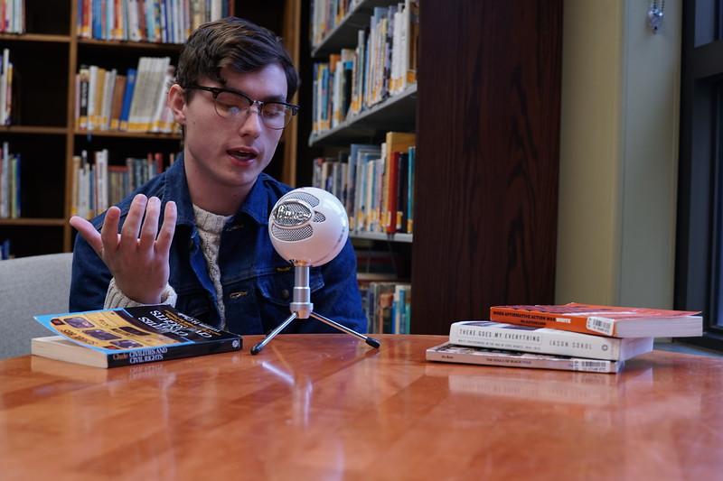 Gabriel Hoyle is a Summer Scholar