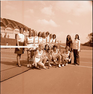 Womens Tennis Team September 1975