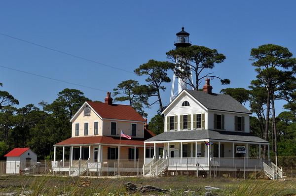 Cape San Blas Lighthouse, Florida - Cape Location