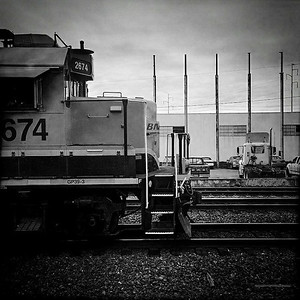 16 Aug 2014: Train in south Seattle