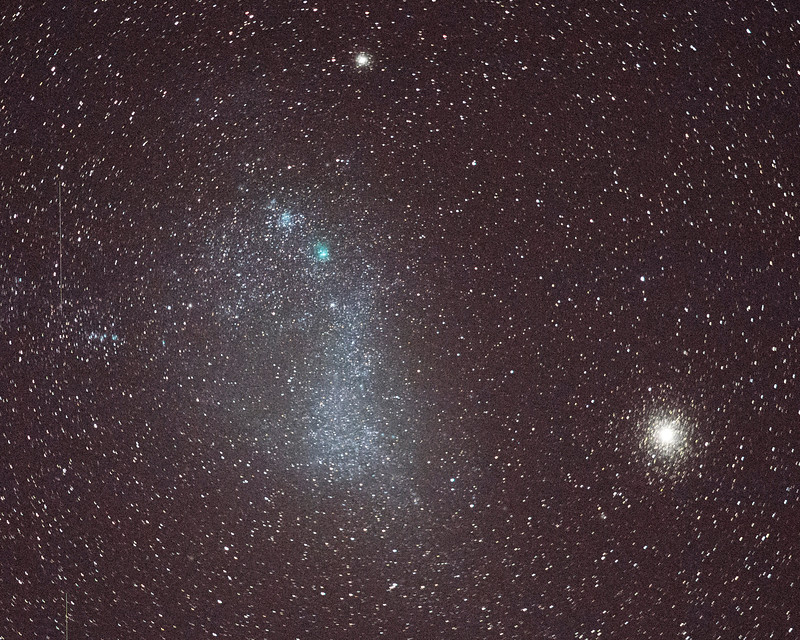 Small Maganellanic Cloud & 47-Tuc.