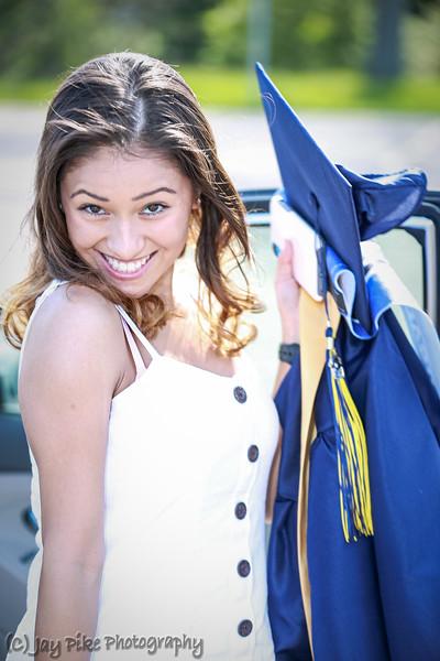 May 21, 2020 - Talisa Graduation Photos