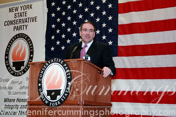 2009 Conservative Party Dinner with Mike Huckabee