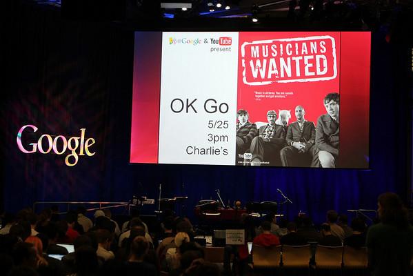 5/25/10 - OK Go @Google