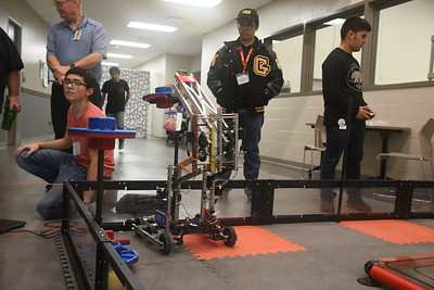 2018 Robotics Final Day to Pasadena Competition