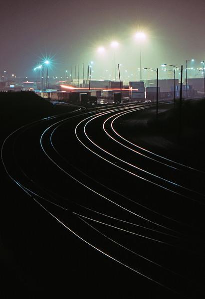 Train Terminal - Somewhere Near Toronto, Canada - November 1986