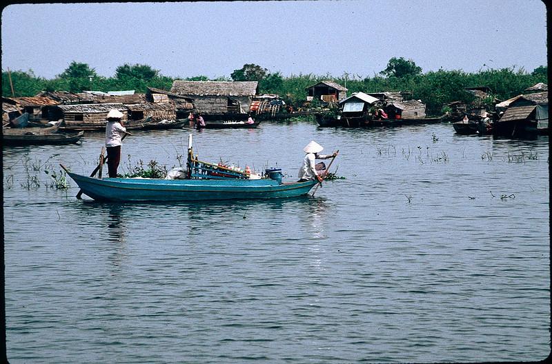village on the Tonle Sap
