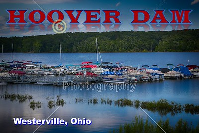 Hoover Reservoir located in Blendon Township, Ohio