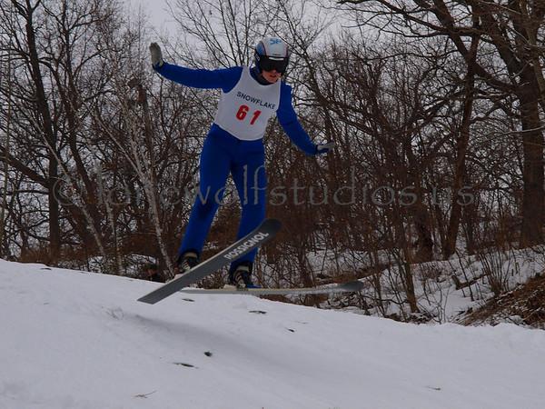 Junior ski tournament-Chad Berger