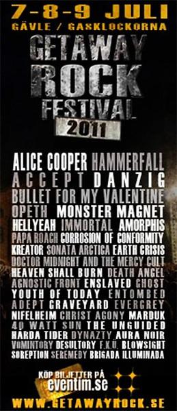 ENSLAVED - Getaway Festival 2011