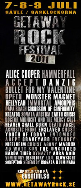 BLINDSIDE - Getaway Festival 2011
