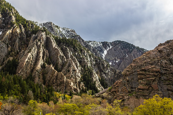 Big Cottonwood Canyon Utah Spring Thunderstorms