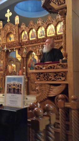 10.25.15 Father Nektarios sermon on Halloween