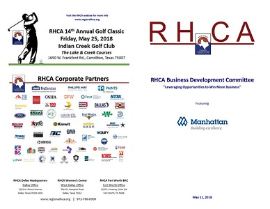 RHCA Business Development Featuring Manhattan Construction