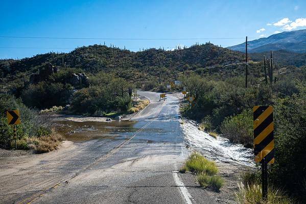 Tanque Verde Creek, E. Redington Rd.