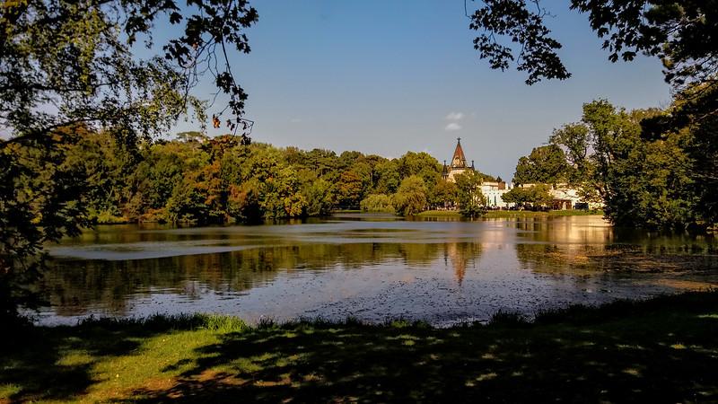 Autumn at the Franzensburg
