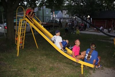 Back to School Party, North and Middle Ward Playground, Tamaqua (8-24-2013)