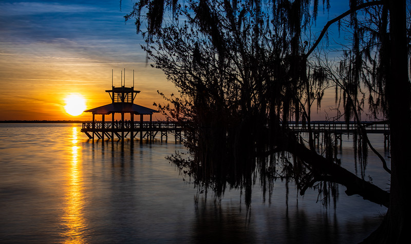 Sunset on the St Johns River