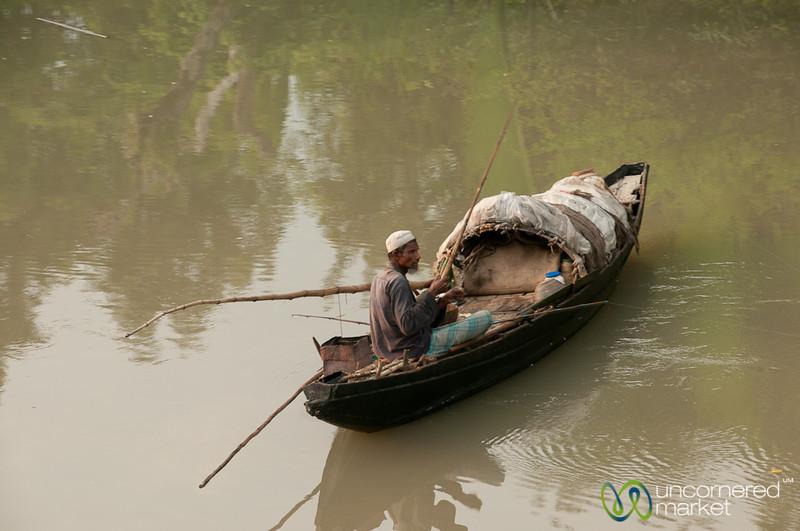 Fishing on the River - Sundarbans, Bangladesh