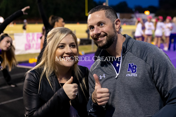Broughton varsity football vs Cardinal Gibbons. Band and Dance Team Senior Night. October 25, 2019. MRC_3586
