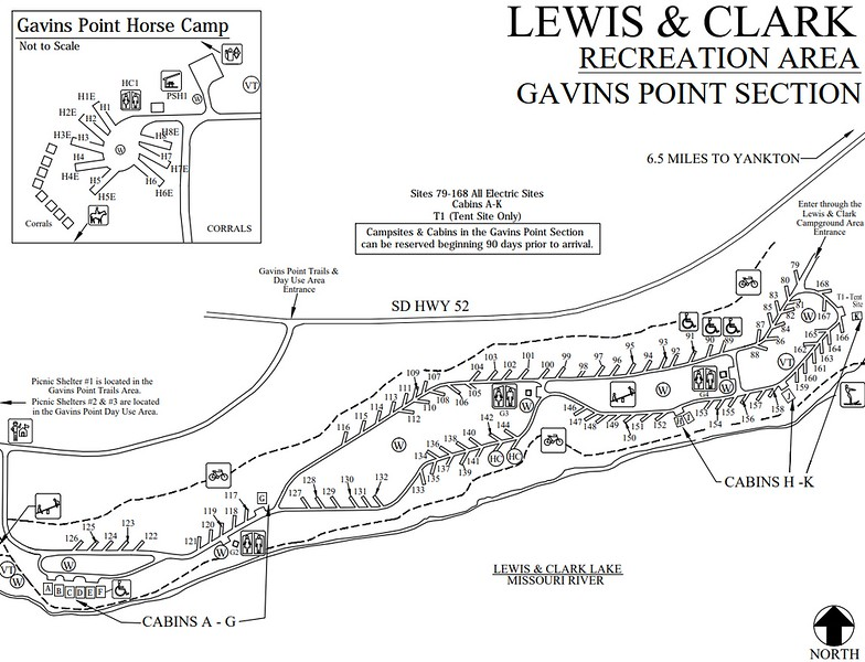 Lewis and Clark Recreation Area (Gavin's Point Section)