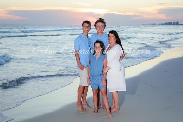 The Patterson family  |  Panama City Beach
