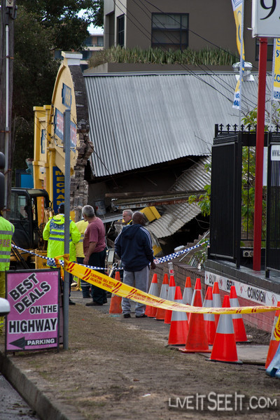 Building Collapse, Kogarah NSW
