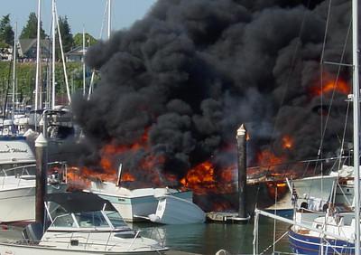 Boat Fire 2006