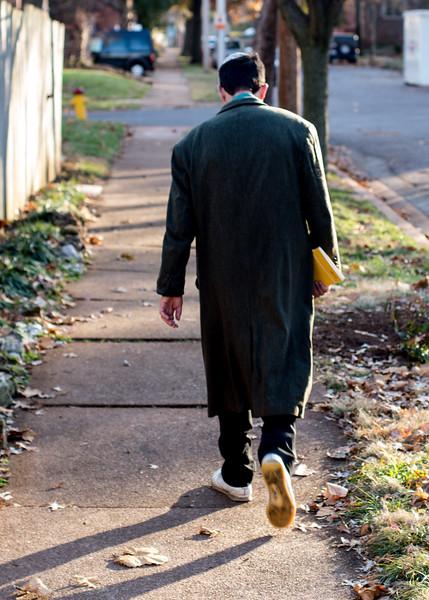 Walking in U City - Nov 2014