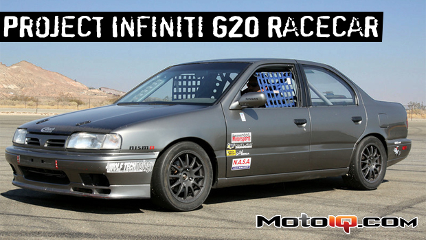 Project Infiniti G20 racecar race car P10 Primera SR20