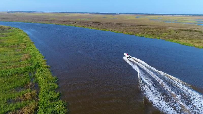 St Simons - Marsh - Boating