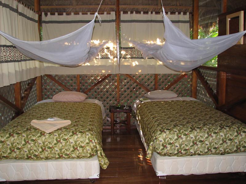 Our Room (Interior) at Manu Wildlife Centre, Peru (2008-07-07).psd