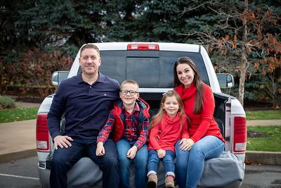 Tom and Brandi's Family--Winter 2020