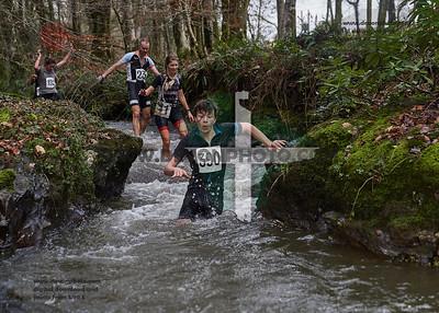 5km trail run &  3km stinger run