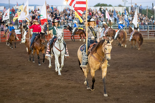 2019 Valley Center Stampede Rodeo - Royalty & Flag Bearers