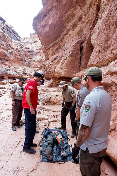 Rescue at Cathedral Wash, Arizona