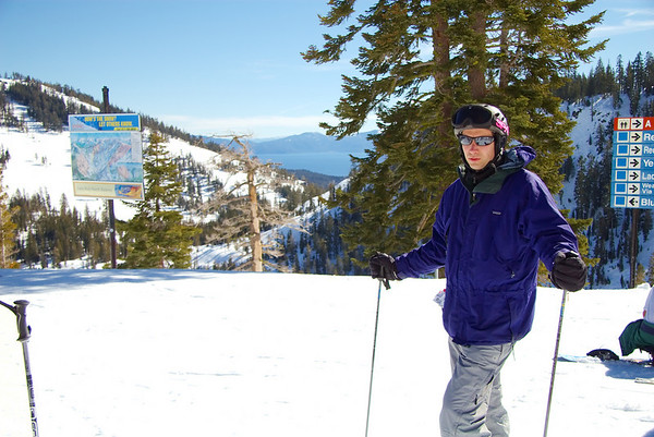 Skiing at Alpine Meadows