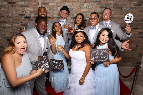 Diesel & Janisette Wedding - Dec 8, 2018 PHOTOBOOTH