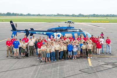 Youth Aviation Adventure Program; OSU Airport, September 20, 2014