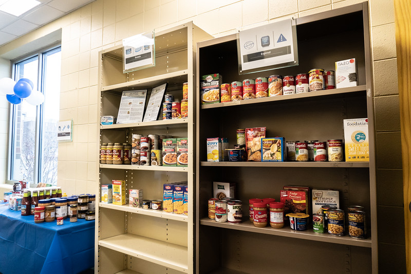 Food Pantry Grand Opening