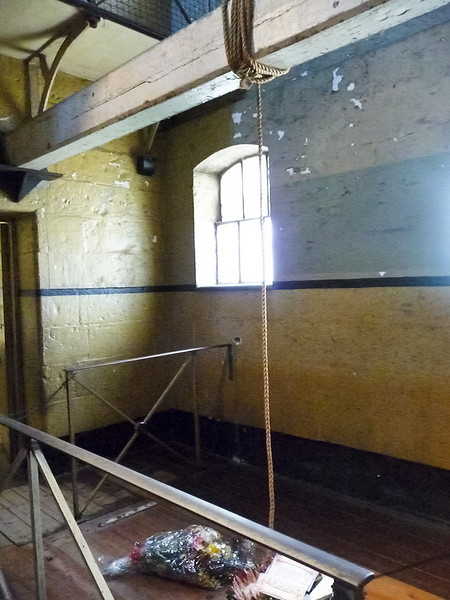 Melbourne - Old Melbourne Gaol - they actually used to hang people inside