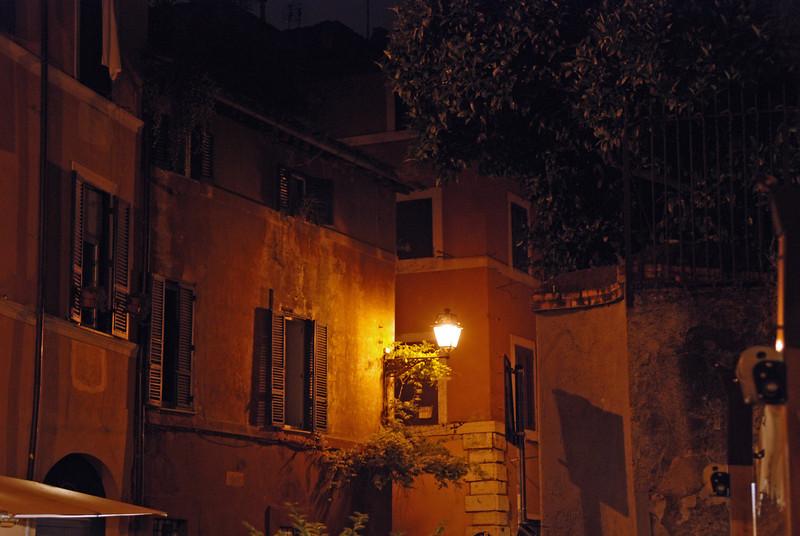 Street Lamp in Rome