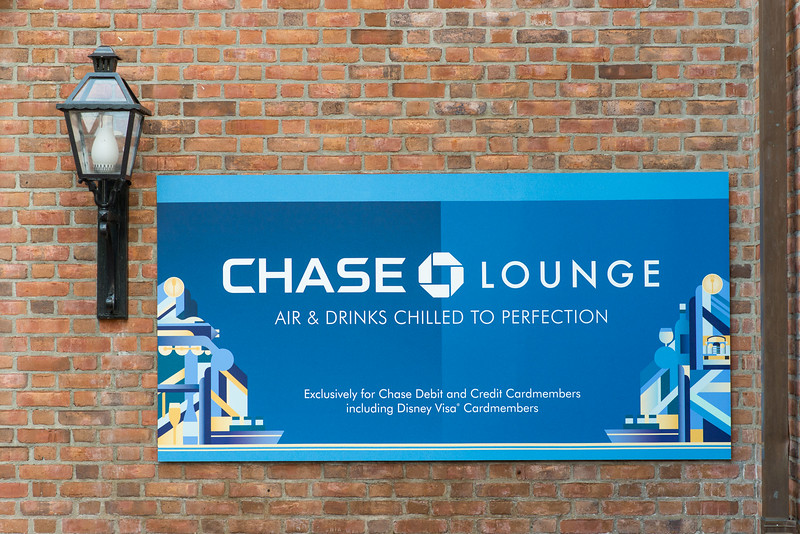 Chase Lounge - Epcot Food & Wine Festival 2016