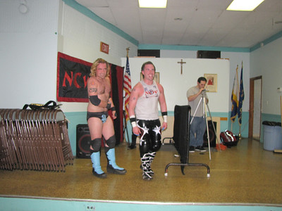 Northeast Championship Wrestling Fight in Foxboro  April 8, 2011