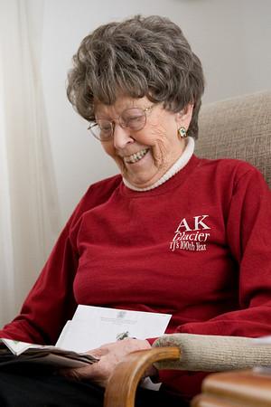 Grandmother Thelma Portraits 2008