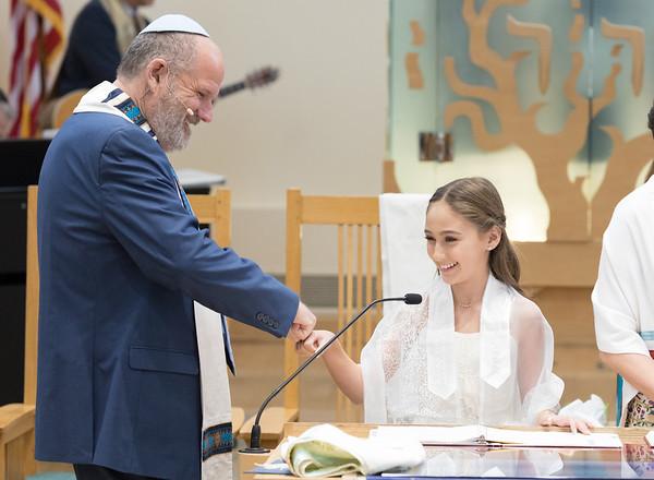 Jamie's Bat Mitzvah - Kehillat Israel - Malibu Jewish Center