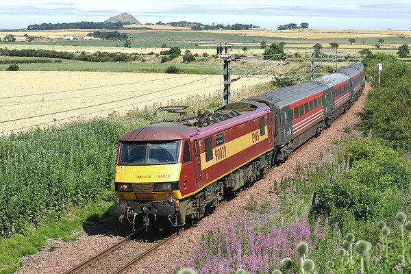 22nd July 2005: East Lothian