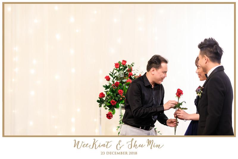 Wedding of Wee Kiat & Shu Min | © www.SRSLYPhotobooth.sg